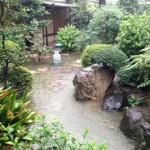 20130916 ゲリラ豪雨で池になりました